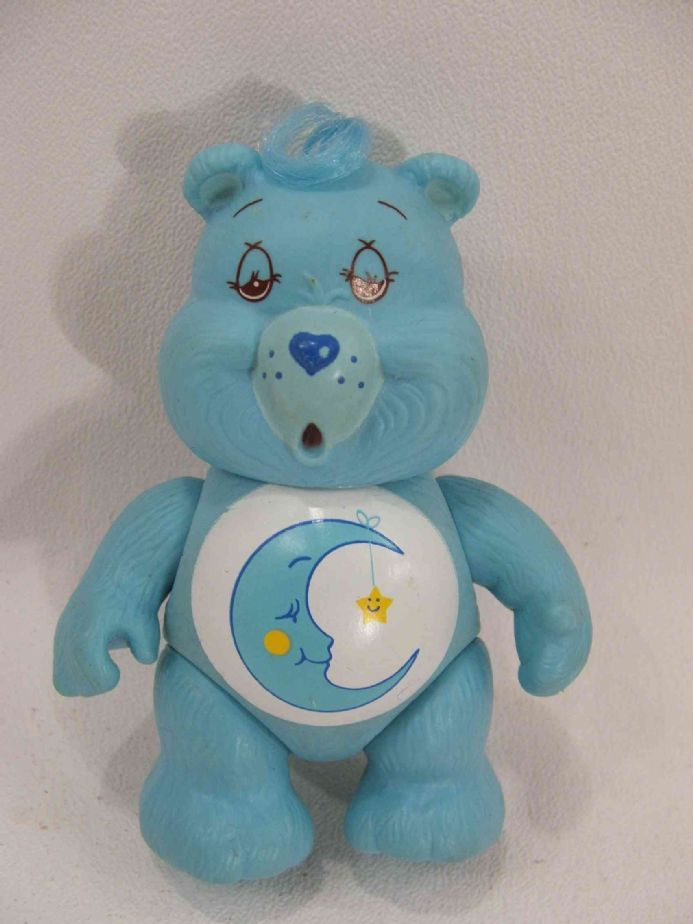 VINTAGE BEDTIME CARE BEAR POSEABLE